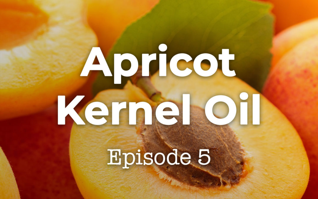 Feels and Flowers Episode 5 - Talking about Apricot Kernel Carrier Oil